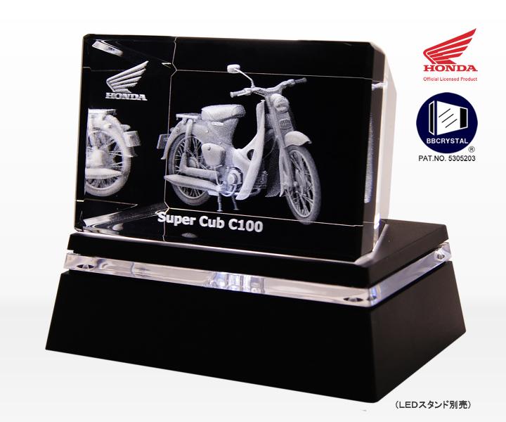 スーパーカブC100 BBクリスタル(3D)